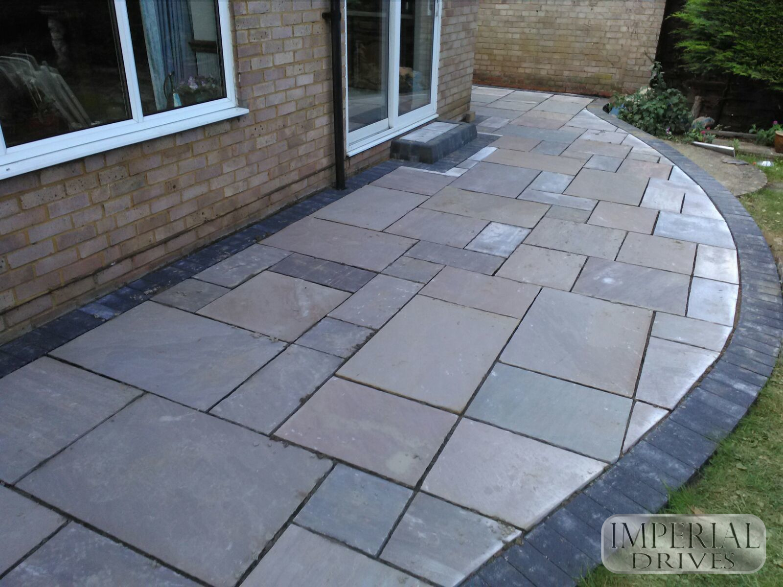 Indian sandstone patio Coventry