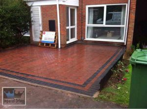 45 Degree Herringbone Paving
